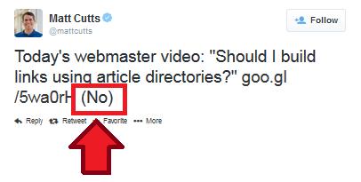 Matt Cutts Says